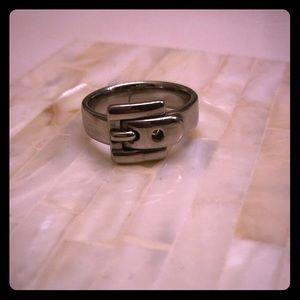 Michael Kors Belt Buckle Ring